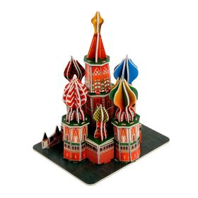 Конструктор 3D «Храм Василия Блаженного»