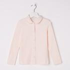 Блузка для девочки, рост 116 см, цвет экрю