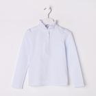 Блузка для девочки, рост 116 см, цвет белый