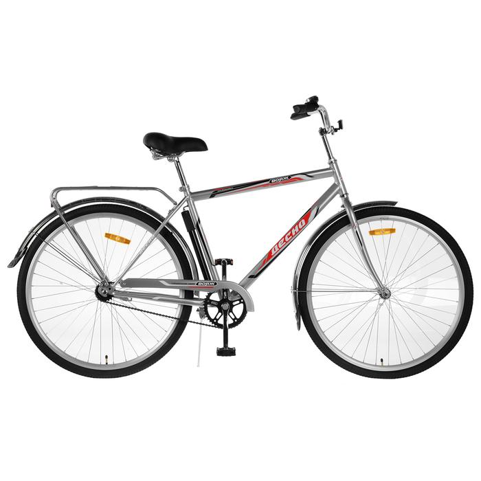 Велосипед 28 Десна Вояж Gent, Z010, цвет серебристый, размер 20