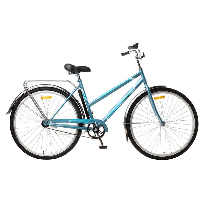 Велосипед 28 Десна Вояж Lady, Z010, цвет голубой, размер 20
