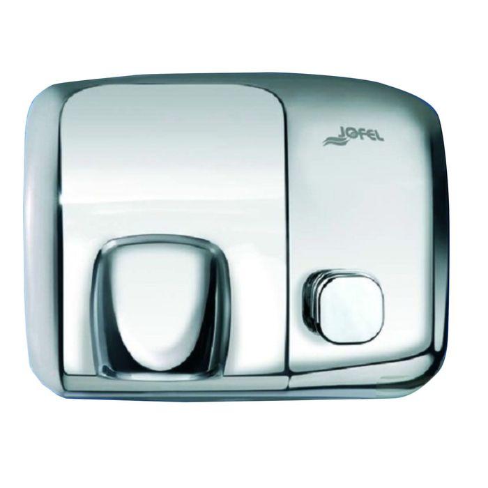 Электросушилка для рук JOFEL Ibero AA91000, включение кнопкой, нержавеющая сталь