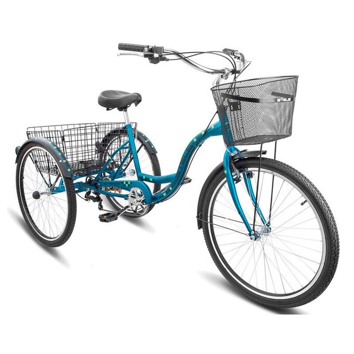 Велосипед 26 Stels Energy-VI, V010, цвет темно зелёный, размер 17