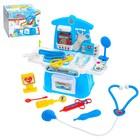 Игровой модуль «Маленький врач» с аксессуарами, 14 предметов