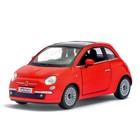 Машина металлическая Fiat 500, масштаб 1:28, открываются двери, инерция, МИКС