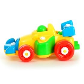 Конструктор для малышей «Формула», 24 детали, цвета МИКС