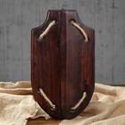 Деревянный щит, массив сосны, 35 х 20 см