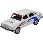 Коллекционная модель машины LADA 2107 Rally, масштаб 1:34-39