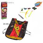 Игровой набор для мальчиков «Охотник»: жилет, лук, 3 стрелы, нож, бинокль, мишень
