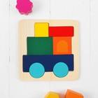 Головоломка «Собери картинку. Поезд»