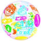 Мяч пляжный «Дизайнерский» 61 см в ассортименте, от 2 лет