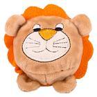 """Мягкая игрушка """"Мячик-лев"""", коричневый, 7см"""