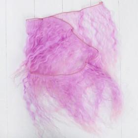 Волосы - тресс для кукол «Волны» длина волос: 25 см, ширина: 100 см, №LSA024