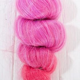 """Волосы - тресс для кукол """"Кудри"""" длина волос 15 см, ширина 100 см, №LSA036"""