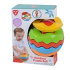 Развивающая игрушка «мяч-пазл Радуга» Playgo