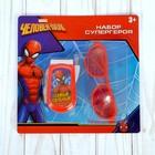 Игровой набор Человек-паук «Супергерой: телефон, очки», русская озвучка, МИКС