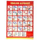 "Плакат ""Английский алфавит"" А2"