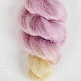 """Волосы - тресс для кукол """"Кудри"""" длина волос 15 см, ширина 100 см, №LSA042"""