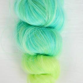 """Волосы - тресс для кукол """"Кудри"""" длина волос 15 см, ширина 100 см, №LSA049"""