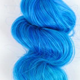 """Волосы - тресс для кукол """"Кудри"""" длина волос 15 см, ширина 100 см, №LSA039"""