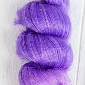 """Волосы - тресс для кукол """"Кудри"""" длина волос 15 см, ширина 100 см, №LSA040"""