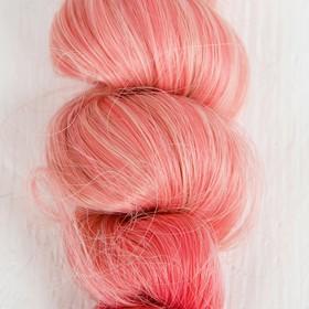 """Волосы - тресс для кукол """"Кудри"""" длина волос 15 см, ширина 100 см, №LSA045"""