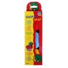 Масса для моделирования 3шт*220гр желтая красная синяя GIOTTO be-be Super Modelling Dough
