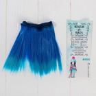"""Волосы - тресс для кукол """"Прямые"""" длина волос 15 см, ширина 100 см, №LSA039"""