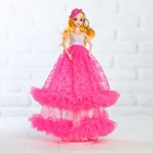 "Кукла на подставке ""Принцесса"" в шляпке"