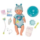 Кукла интерактивная BABY born «Мальчик», 43 см