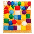 Дидактический набор «Эталонные фигуры МиниЛарчик», 8 цветов