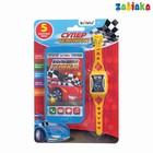 Игровой набор «Супер чемпион»: телефон, часы, русская озвучка, цвет голубой