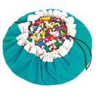 Игровой коврик - мешок для хранения игрушек 2 в 1 Play&Go, коллекция Classic, цвет бирюзовый   39833
