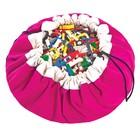 Игровой коврик - мешок для хранения игрушек 2 в 1 Play&Go, коллекция Classic, цвет фуксия