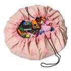 Игровой коврик - мешок для хранения игрушек 2 в 1 Play&Go, коллекция Designer, «Розовый слон»   3983