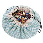 Игровой коврик - мешок для хранения игрушек 2 в 1 Play&Go, коллекция Print, «Синий бриллиант»   3983