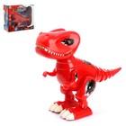 Динозавр-робот «Робозавр», работает от батареек, световые и звуковые эффекты, МИКС