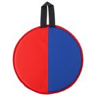 Ледянка d-330мм h=10мм, цвет красный/синий