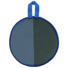 Ледянка d-330мм h=10мм цвет, серый/зелёный