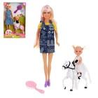 Кукла модель «Лиля» с куклой-малышкой на лошадке и аксессуарами, МИКС