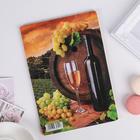 Доска разделочная «Вино», 23×16×0,6 см