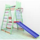Детский спортивный комплекс Castle, цвет фисташка