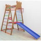 Детский спортивный комплекс Castle, цвет шоколад