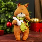 "Кукла-игрушка сувенирная ""Лиса с курочкой"" 30 см МИКС"