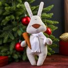 "Кукла-игрушка сувенирная ""Заяц с морковокой"" 30 см"