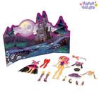 Магнитный набор с куклой, фоном и наклейками «Хэллоуин»