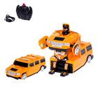 """Робот-трансформер радиоуправляемый """"Автобот"""", ездит по стенам, масштаб 1:24, МИКС в пакете"""