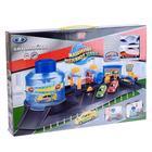 Игровой набор «Автомойка» с функцией воды, 2 машинками, меняющими цвет, масштаб 1:72