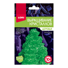 """Выращивание кристаллов.Деревья """"Зеленая ёлочка"""" Крд-002"""