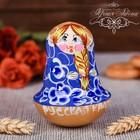 """Неваляшка """"Русская краса"""" (синяя)"""